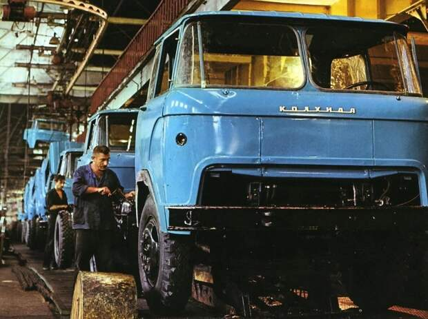 Что производят сейчас на Кутаисском автозаводе