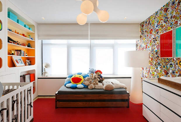 Интерьер спальни от d'apostrophe design