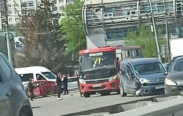 На Московском шоссе Рязани произошло ДТП