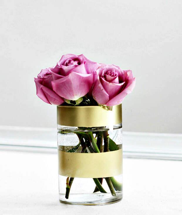 Апгрейд прозрачной вазы.