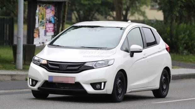 Новая Honda Jazz впервые замечена в Европе