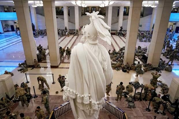 Национальная Гвардия в Капитолии