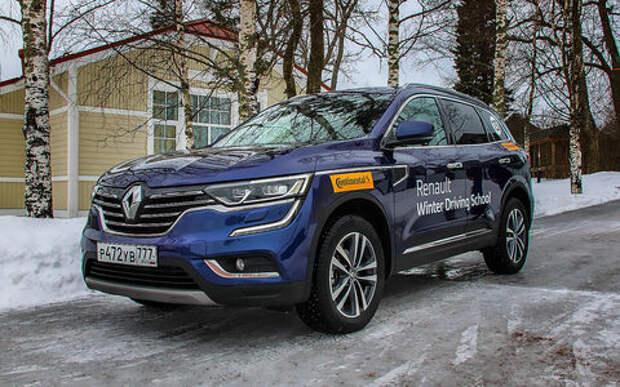 Новый Renault Koleos — впервые на наших дорогах!