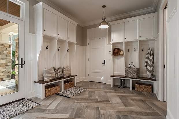Прихожая в частном доме: стиль, цвет, отделка, мебель, идеи декора (96 фото)