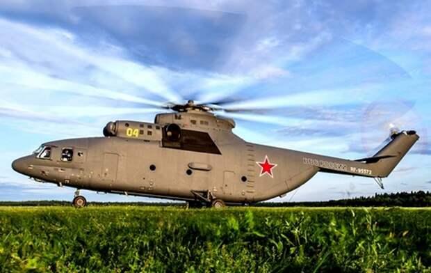 Тяжелые вертолеты Ми-26 избавятся от украинских двигателей