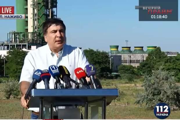 112: Саакашвили обвинил Яценюка в коррупции на 8 миллиардов долларов