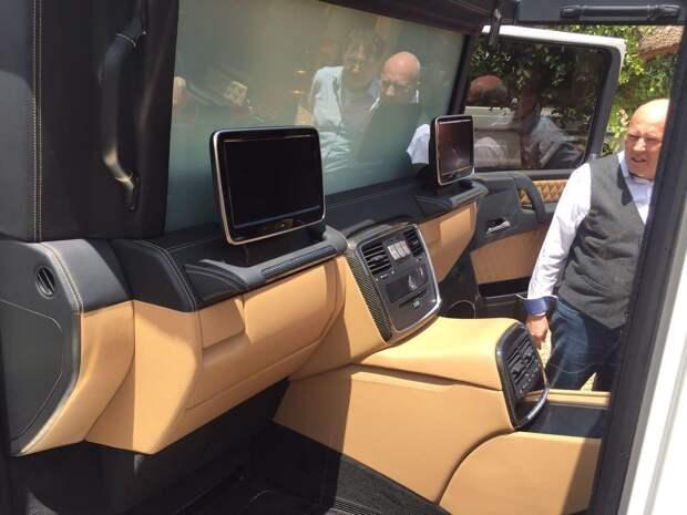 Первый внедорожный Maybach на базе G-Class 4x4 Squared
