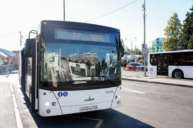 В Сочи на Пасху и Радоницу усилят работу общественного транспорта