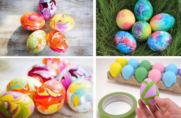 Как сэкономить на краске для яиц и сделать шедевры на Пасху бесплатно и безопасно