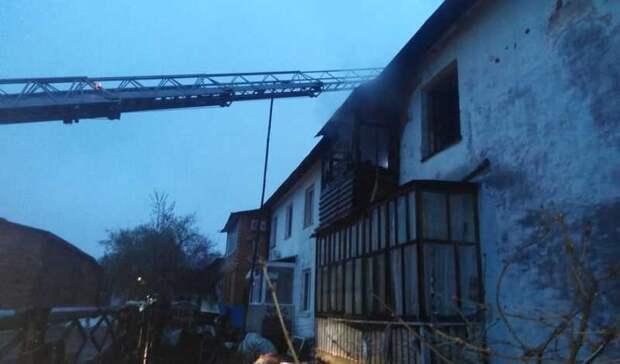 СКБашкирии расследует смерть 96-летнего ветерана войны при пожаре вдвухэтажном доме