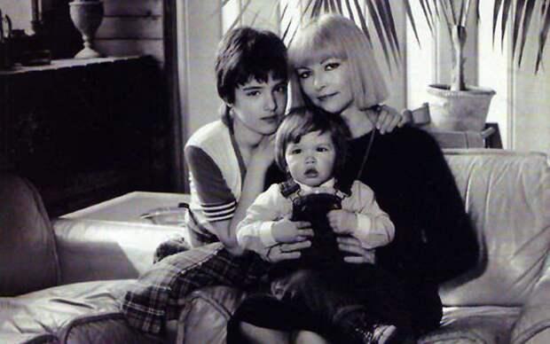 Барбара с детьми