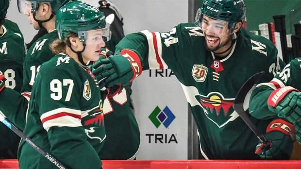 Гол Капризова позволил «Миннесоте» сократить отставание в серии с «Вегасом» в плей-офф НХЛ
