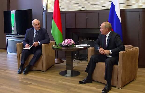 Путин и Лукашенко снова встретятся в Сочи