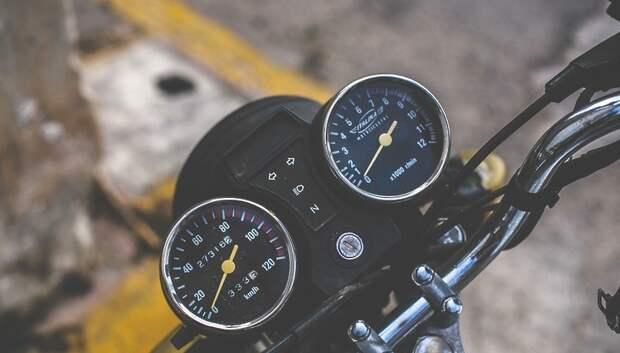 Госавтоинспекторы Подольска на мотоциклах поймали более 40 нарушителей за две недели