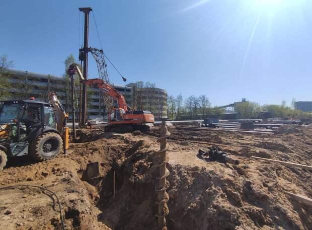 В Свиблове начали строить новую поликлинику
