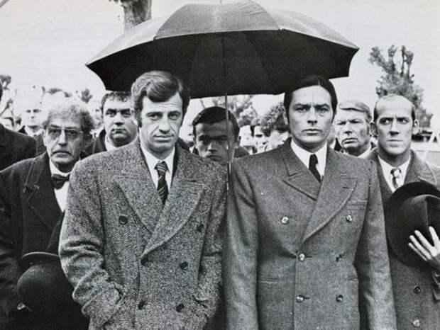 Два самых популярных французских киноактера | Фото: kinoistoria.ru