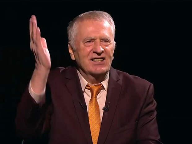 Жириновский рассказал о провале в первую брачную ночь