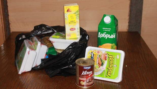 Подольчанка купила продукты для проходящих карантин в общежитии округа