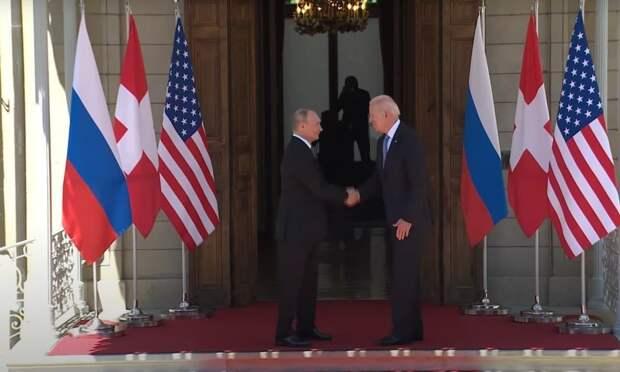В Женеве на вилле Ла Гранж началась встреча Владимира Путина и Джо Байдена. Обсуждать...