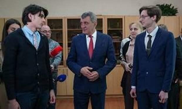 Сергей Меняйло: РФМЛИ должен стать площадкой физико-математического обучения для одаренных детей не только Северной Осетии, но и всего Северного Кавказа