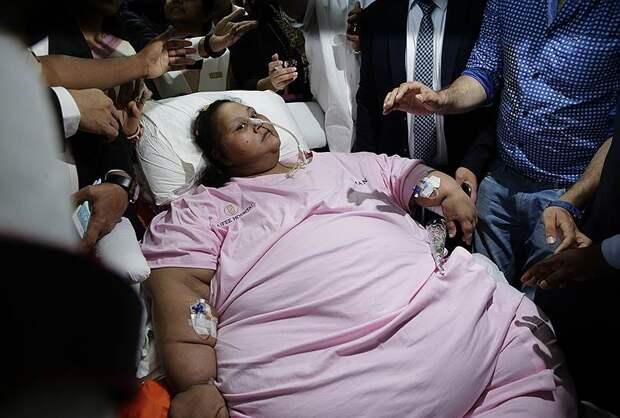 В Абу-Даби скончалась самая тяжелая женщина в мире