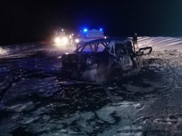 Еще один пассажир скончался в реанимации после лобового столкновения авто на трассе под Глазовом