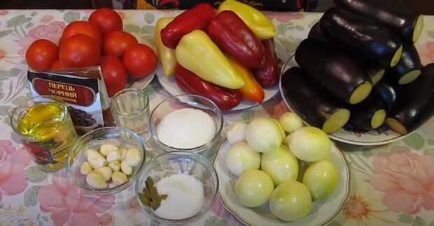 Всем по вкусу — Лечо из баклажанов! Салат из баклажанов на зиму