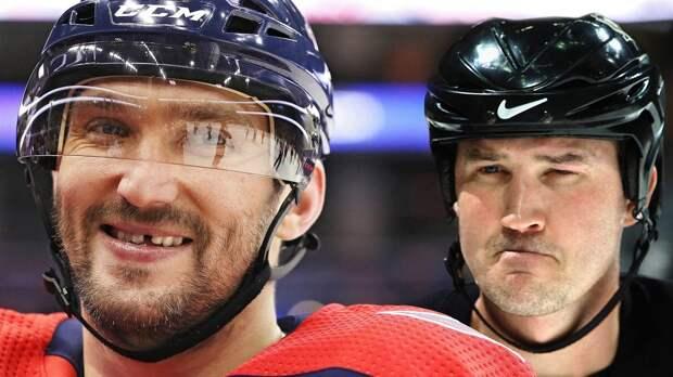 Овечкин круче великого Лемье. Русский снайпер— 3-й игрок вистории НХЛ поголам впустые ворота