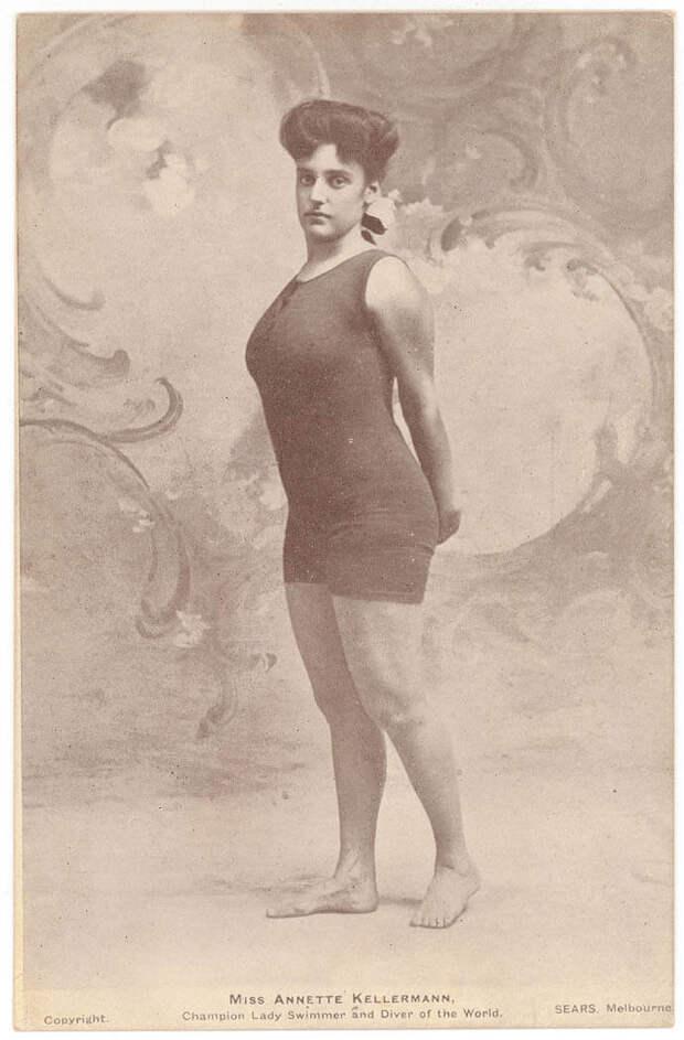 Аннетт Келлерман.