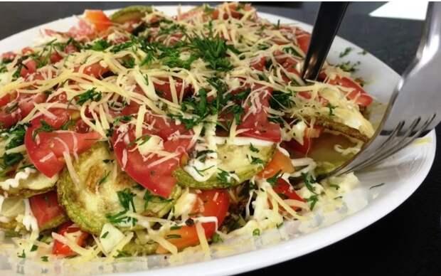 Почему многослойный салат с кабачками – любимая летняя еда
