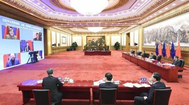 ЕС заморозил крупнейшую торговую сделку с Китаем из-за политических разногласий