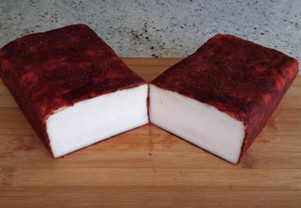 Шпик венгерский: замариновали из килограмма мяса