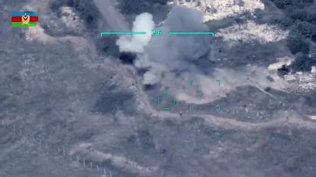 Беспилотник-камикадзе Азербайджана уничтожил в Армении ЗРК С-300