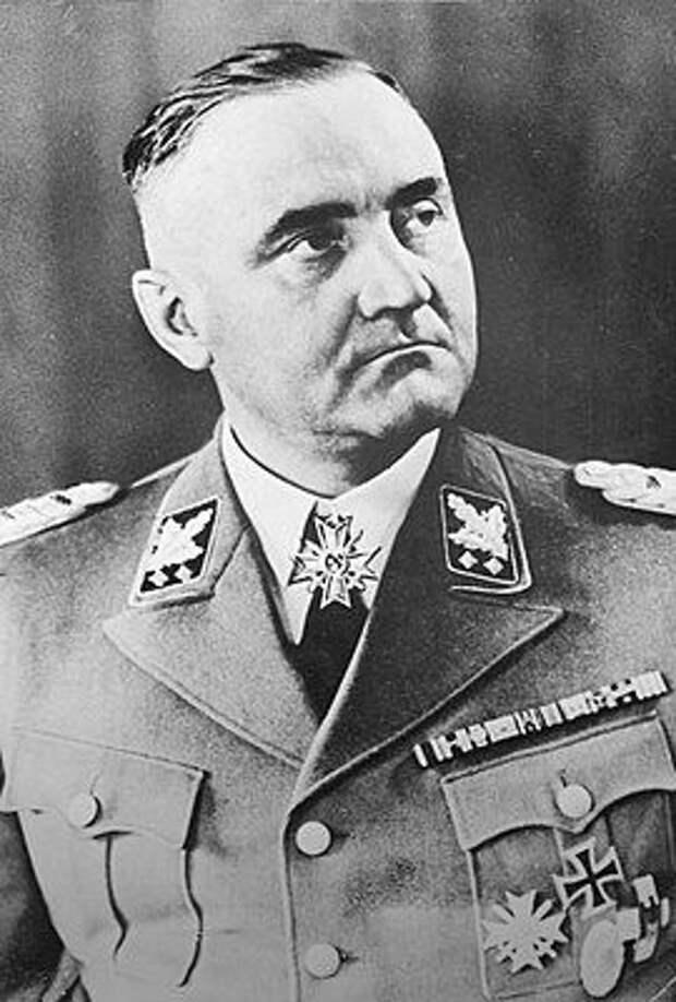 Готтлоб Бергер, один из заместителей Гиммлера