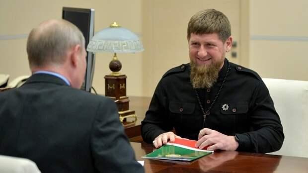 Президент России оценил выросшую безопасность в Чечне при Кадырове