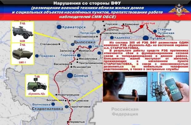 ВСУ под прикрытием гуманитарной миссии минируют территории: сводка с Донбасса
