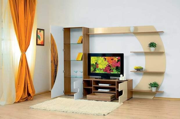 Выбираем современную мебельную стенку