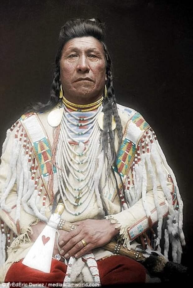 Вот как на самом деле выглядели знаменитые индейские вожди! индейцы, интересно, история, фото