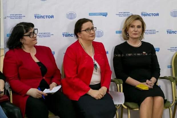 Ирина Галкина: Многодетным семьям необходима поддержка государства .Фото: Александр Чикин
