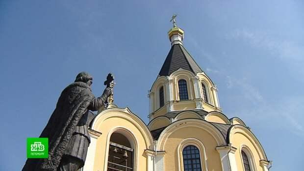 Церковь Александра Невского в Апраксине стала духовным центром для поисковиков и дачников