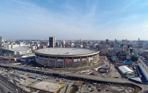 В Москве загорелся СК «Олимпийский»