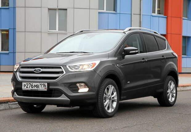 Обновленный Ford Kuga: объявлены рублевые цены