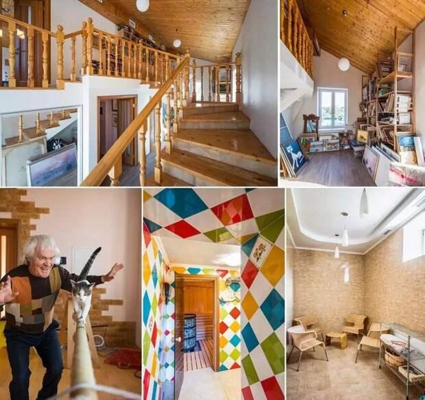 Как выглядит загородный дом Юрия Куклачева, который обошелся ему в 300 миллионов рублей