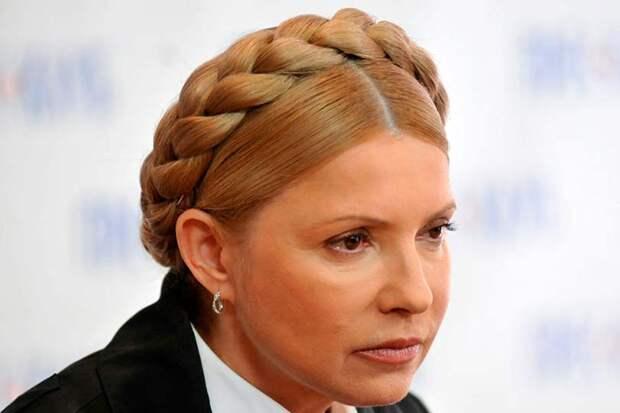 Вернув на голову «бублик» Тимошенко предложила Зеленскому возвращаться проводить корпоративы