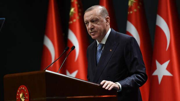Эрдоган заявил о поддержке палестинцев и пригрозил Израилю