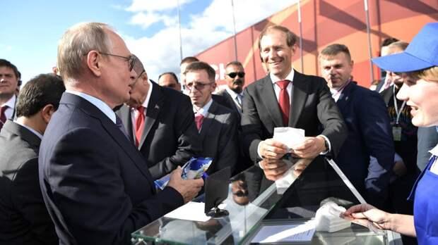 Путин ввел моду на российское мороженое в Китае