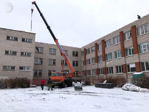Строительная компания заплатит штраф за нарушение сроков ремонта кровли в школе №80 Ижевска