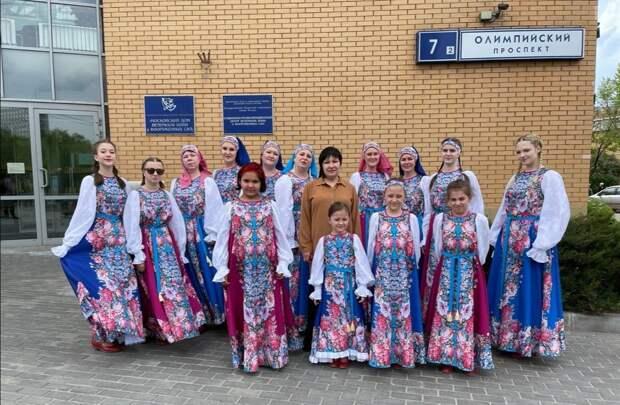 Ансамбль «Раздолье» из Алтуфьева принял участие в семейном фестивале