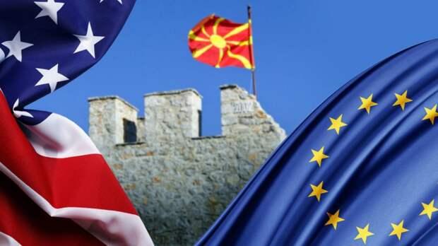 Македонских полицейских принудят нацепить нашивки на албанском языке