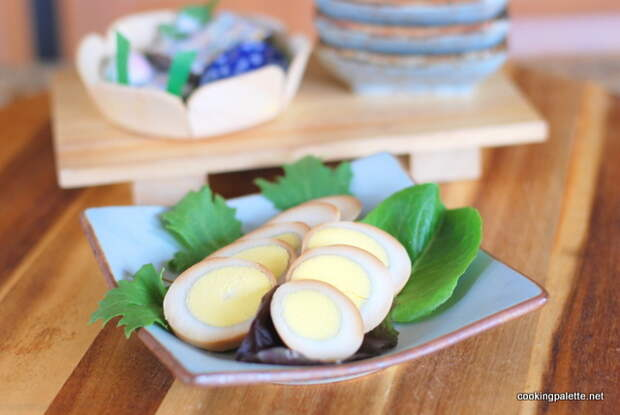 soy sauce marinated eggs (12)